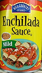 HEB Hill Country Fare Enchilada Sauce, Mild 15 Oz (Pack of 6)