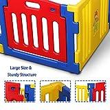 Kidzone Interactive Baby Playpen 8 Panel Safety