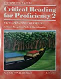 img - for Critical Reading for Proficiency 2 (7th- & 8th-Grade Level) book / textbook / text book