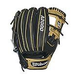 Wilson A2000 1786 Infield Baseball Glove, Blk/Blonde, Right Hand Throw