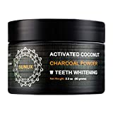 Teeth Whitening Charcoal Powder | Activated Coconut Charcoal Teeth Whitener| Food-Grade Active Ingredients | Porous Hexagonal Structure | 62 Grams