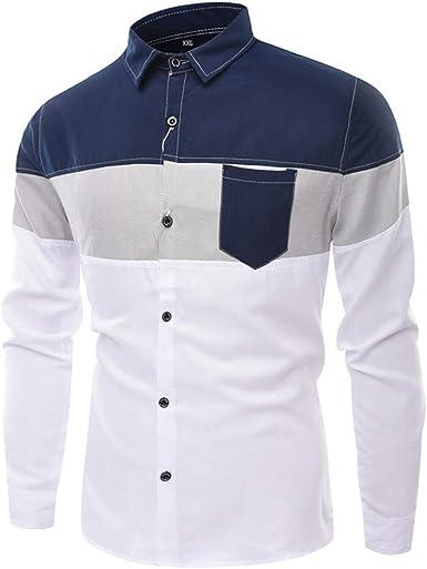 SXZG Camisa Nueva para Hombres Casual Casual Camisa Delgada a Juego para Hombres: Amazon.es: Ropa y accesorios