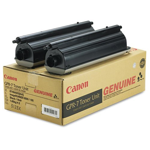 Canon 6748A003AA (GPR-7) Toner, 36600 Page-Yield, 2/Pack,...