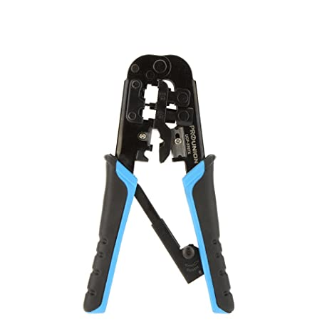 ProsKit UCP-376TX Multi Tool Ganzo 4P/6P/8P Crimping Tool Network Cable Pliers Alicate Automatically Adjust The Ratchet - - Amazon.com