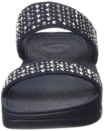 FitFlop Women's Novy Slide Sandal, Supernavy, 5 M US by FitFlop (Image #4)