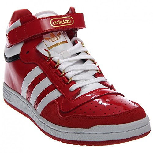 obtenir pas cher 6f6fd 287ae Adidas Concord 2.0 Mid Round Toe Patent Leather Sneakers 30 ...