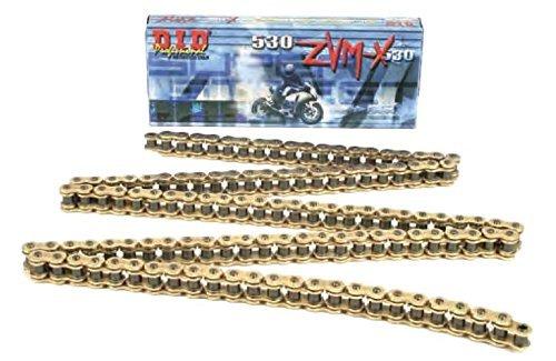 DID ZVM-X 530 Super Street Chain - 530 x 160 Links/Gold
