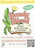 Image of Dandy Blend, Instant Dandelion Beverage, 25 Single Serving Pouches, 2.5 oz
