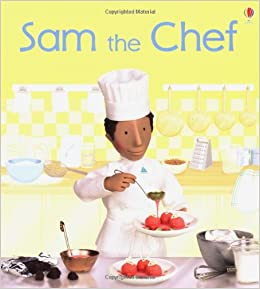 Book Sam the Chef (Jobs People Do)