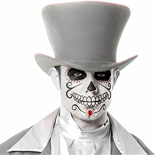 Charades Unisex-Adults Ghost Groom Hat, Gray, One Size