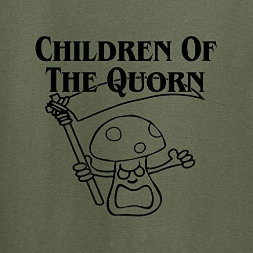 Vegan Vegetarian T shirt Children of the Quorn available in a range of colours premium soft cotton ethical tee