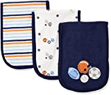 Gerber Baby Boys' 3 Pack Terry Burp Cloth