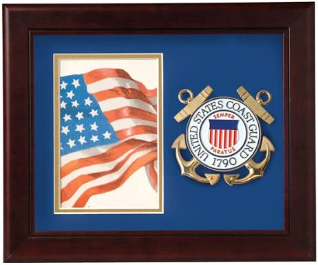 Amazon Com Allied Frame Us Coast Guard Medallion Portrait Picture Frame 4 X 6 Picture Opening Single Frames