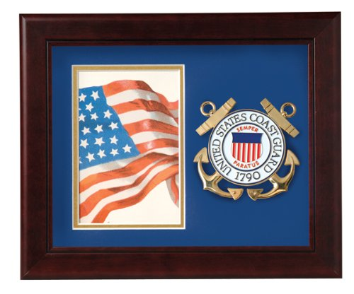 Allied Frame United States Coast Guard Vertical Picture (Guard Picture Frame)