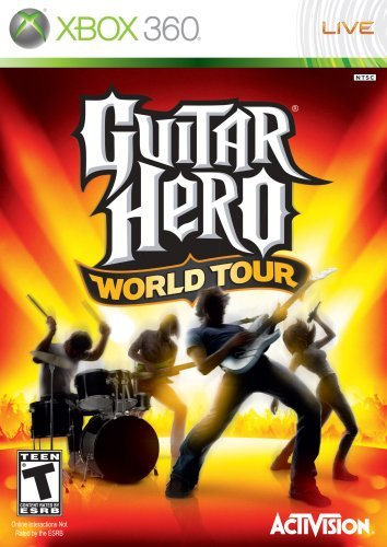Guitar Hero World Tour - Xbox 360 (Game only) by Activision (Best Guitar Hero Game)