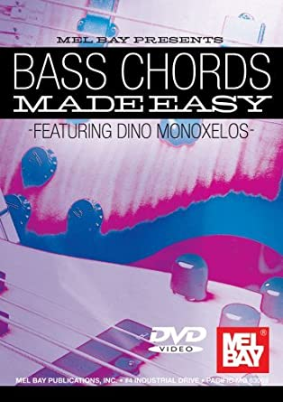 Amazon.com: Monoxelos Dino Bass Chords Made Easy Electric Bass ...