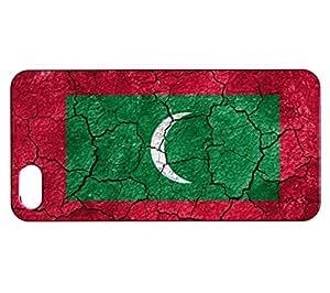 Funda Carcasa para iPhone SE Bandera LAS MALDIVAS 03