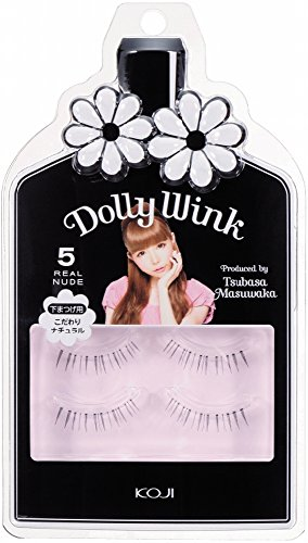 Dolly Wink Koji Eyelash by Tsubasa Masuwaka, Realcute (05) (Wink Lashes)