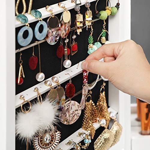 LED Bulbs Jewelry Cabinet