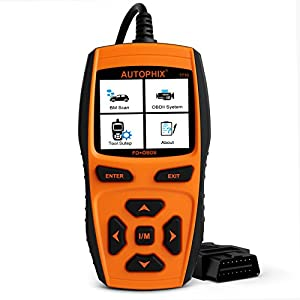 Diagnostic Scanner Automotive Scanner for Ford, AUTOPHIX 7710 OBD II OBD2 Scanner Code Reader, ABS/SRS/EPB/SAS/Transmission/Injector Coding Diagnostic Scan Tools with OIL/TPMS/DPF/BMS Reset Functions