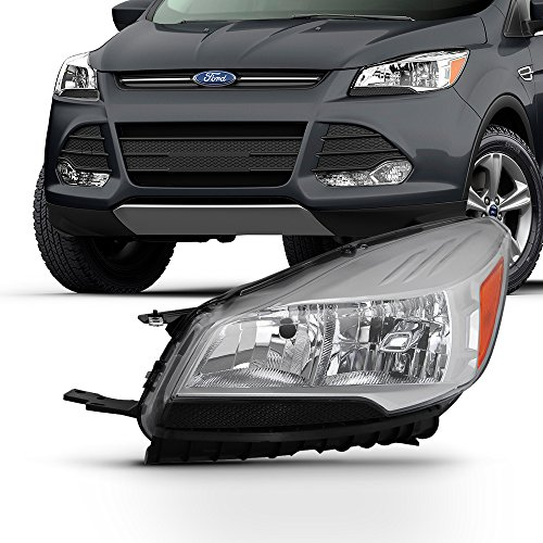 For 2013-2016 Ford Escape Halogen Style Headlight Driver Left Side LH Replacement ()