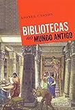 capa de Bibliotecas no Mundo Antigo