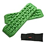 X-BULL New Recovery Traction Tracks Sand Mud Snow Track Tire Ladder 4WD (Green))