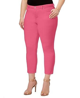 d044ad54747 Charter Club Plus Size Bristol Tummy-Control Capri Jeans at Amazon Women s  Jeans store