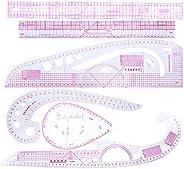 6 Pçs/Set Régua De Curva De Costura Para Costura Alfaiate Roupas Medida Design