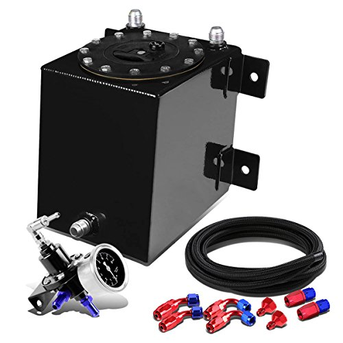 1-Gallon Bottom-Feed Black Fuel Cell+12