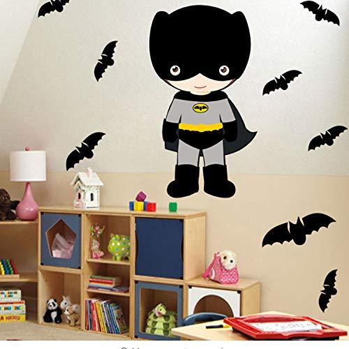 Dibujos Animados Batman Pegatinas de Pared para Habitaciones de ...