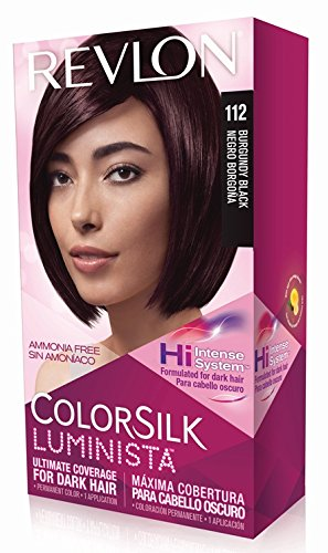 Revlon Colorsilk Luminista Haircolor, Burgundy Black, 1 Count