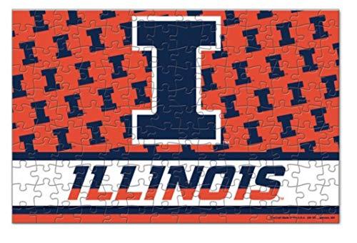 WinCraft NCAA University of Illinois Fighting Illini Puzzle 150-Piece