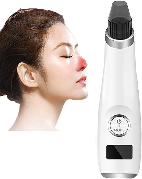 Myonly Además de la espinilla del Limpiador del poro del acné, acné Facial Extractor de Comedones, acné Cuidado de la Piel máquina de Punto Negro Recargable USB para la córnea,A: Amazon.es: Deportes