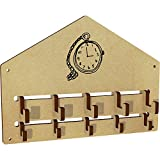 Azeeda 'Pocket Watch' Wall Mounted Coat Hooks / Rack (WH00034478)