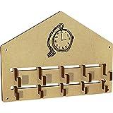 Azeeda 'Pocket Watch' Wall Mounted Coat Hooks / Rack (WH00034478)