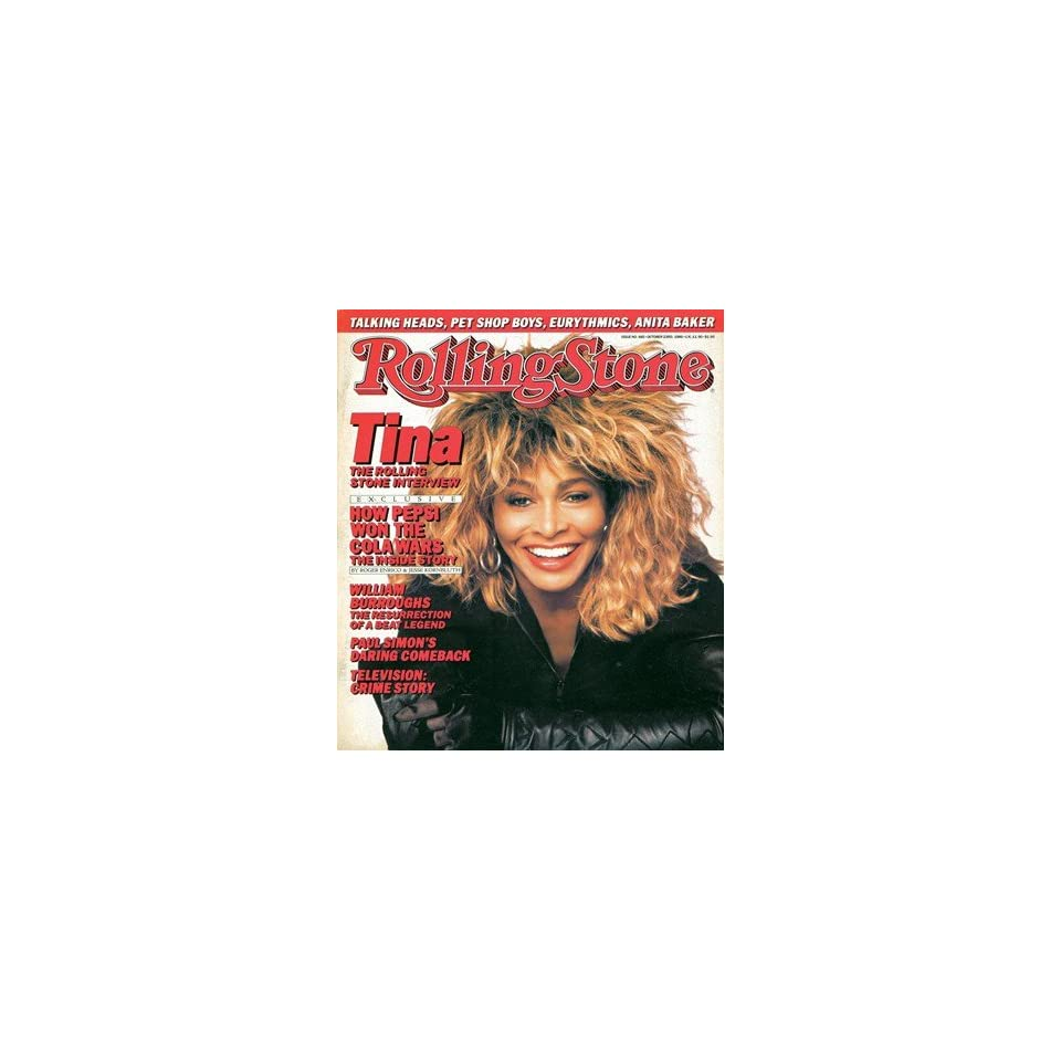 Tina Turner, 1986 Rolling Stone Cover Poster by Matthew Rolston (9.00 x 11.00)