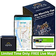 Vyncs gps tracker makes owning and driving a car safer, smarter, and a lot less expensive. Plug this CERTIFIED wireless Vyncs Link (SIM card included) into the OBD-II port of your car (post 1996), create an account, and you are good to go. BU...