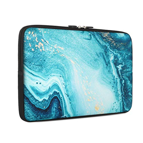 Laptop Sleeve, iCasso 15-Inch Stylish Soft Neoprene Sleeve Case Cover Bag Compatible 15-15.6 Inch MacBook Pro, Notebook Computer, River Sand