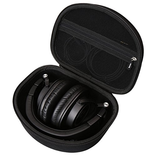 Hard Carry Travel Bag Case for Audio-Technica ATH-M50x Professional Monitor Headphones ATH-M50xMG ATH-M40x ATH-M30x ATH-M70x by Aproca (black) by Aproca
