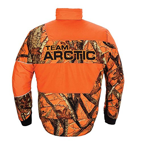 Arctic Cat Youth Jacket Orange, 10 Artic Cat 5280-493