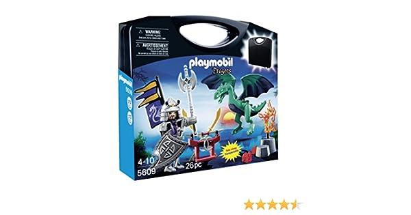 Playmobil - Medieval, Maleta Dragones (5609)