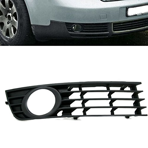 Hot Front Right Lower Fog Light Side Insert Grille Grill for Audi A4 B6 02-05 2002 2003 2004 2005 Parts number # 8E0 807 682 ABS