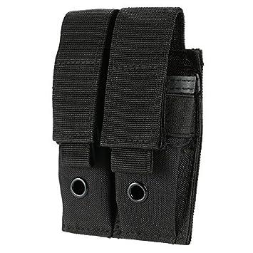 Amazon.com: Doble Pistola Mag Pouch, uning cuchillo táctico ...