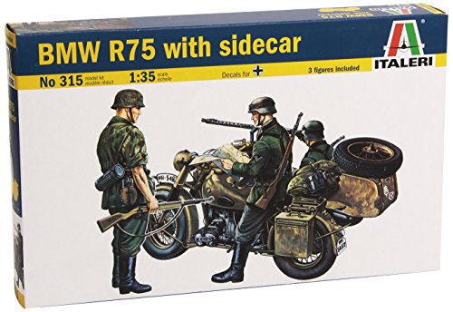 Italeri Models BMW R75 with Sidecar Model Kit for sale  Delivered anywhere in USA