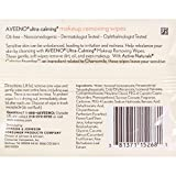 Aveeno Ultra-Calming Cleansing Makeup Removing Wipes, 25 Count