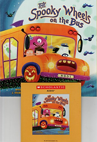 The Spooky Wheels on the Bus (Paperback & Cd) (Audio Cd)
