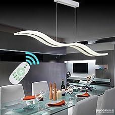 Modern Led Pendant Lighting Fixture For Living Room Acrylic Stainless Pendant Lamps Bar Home Restaurant Dining Lighting