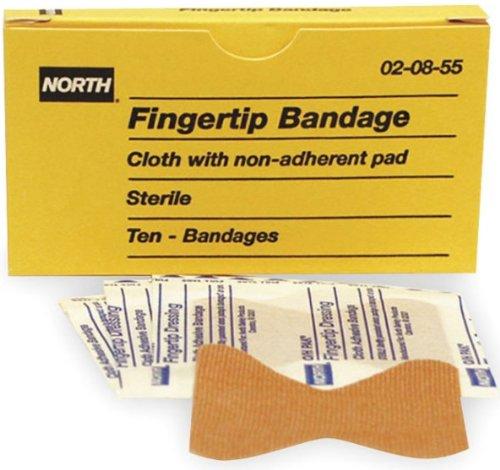 (North by Honeywell 020855 Fingertip Bandage, 10 per unit)