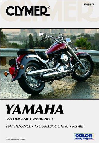 Yamaha V-Star 650 1998-2011 (Clymer Motorcycle Repair)